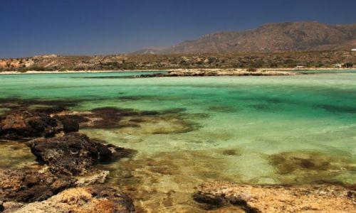 Zdjęcie GRECJA / Kreta Zach. / Elafonisi. / Raj dla plażowiczów.