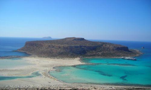 Zdjecie GRECJA / Kreta / Balos / blue balos