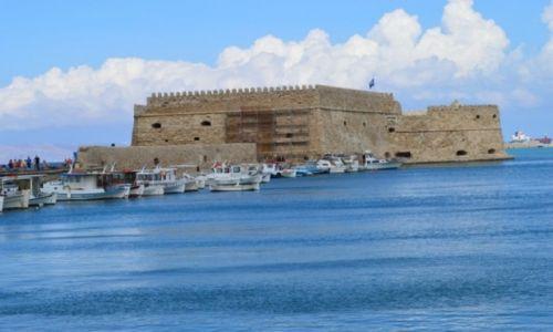 Zdjecie GRECJA / Kreta / Heraklion / Port w Heraklion