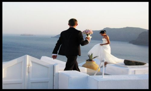 Zdjecie GRECJA / Cyklady / Santorini / From Santorini with love