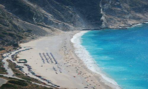 Zdjęcie GRECJA / Kefalonia / Kefalonia / Plaża Myrtos