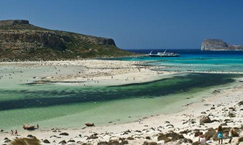 Zdjęcie GRECJA / Kreta / Pólwysep Gramvousa / Laguna Balos