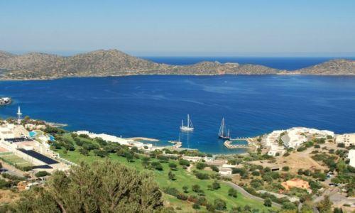 Zdjecie GRECJA / Kreta / Istro / Cicha zatoczka