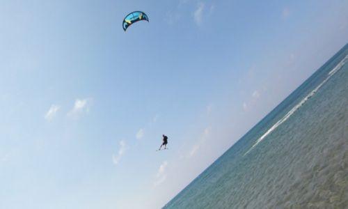 Zdjęcie GRECJA / Rodos / Prasonisi / flying. high