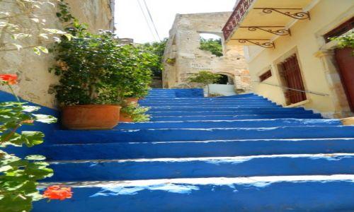 Zdjęcie GRECJA / wyspa symi / symi / ot... schody :)