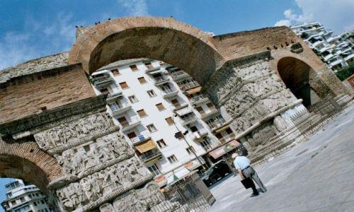 Zdjęcie GRECJA / brak / Thessaloniki / Łuk Galeriusa