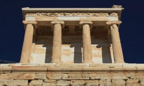 Zdjęcie GRECJA / Ateny / Akropol / Świątynia Nike Apteros
