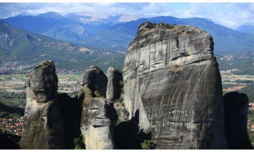 Zdjecie GRECJA / Tesalia / Meteory / Boskie skały