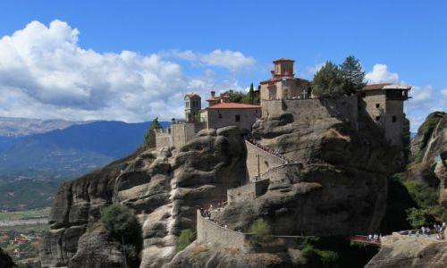 Zdjęcie GRECJA / Tesalia / Meteory / Klasztor Wszystkich Świętych - Warłaama
