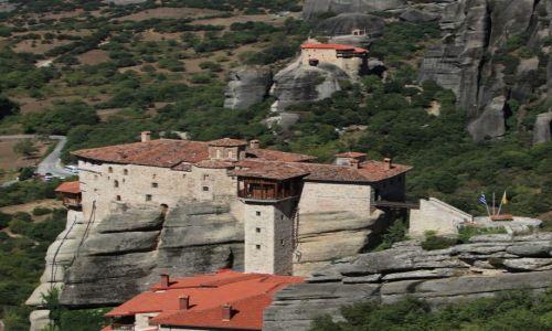 Zdjecie GRECJA / Tesalia / Meteory / Klasztor Rusanu, św. Barbary