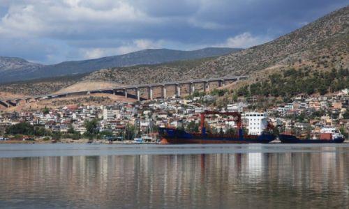 Zdjęcie GRECJA / Fthiotida / Stilida / Port nad Zatoką Maliakos