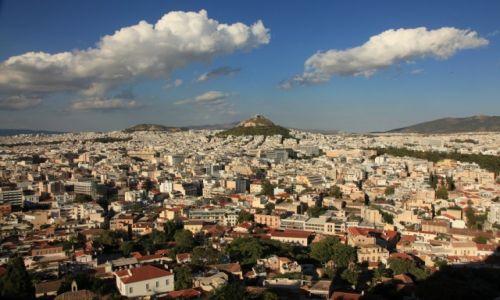 Zdjęcie GRECJA / Ateny / Akropol / Panorama