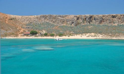 Zdjęcie GRECJA / Balos / Kreta / LAGUNA BALOS