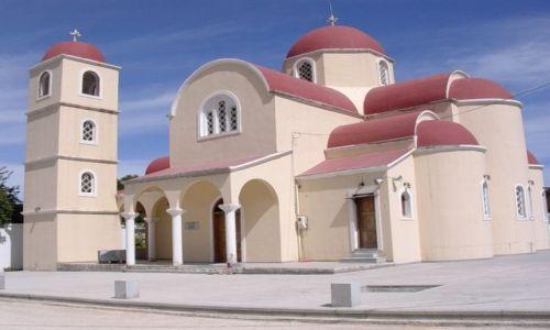 Zdjecie GRECJA / Kreta / Gdzies w górach / Cerkiew