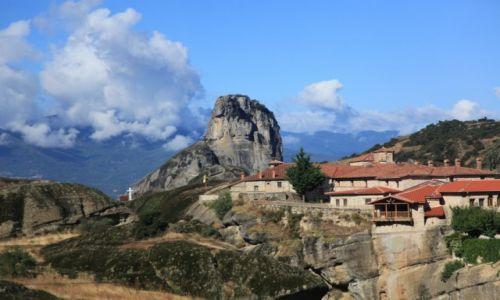 Zdjęcie GRECJA / Tesalia / Meteory / Życie na skałach