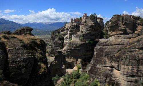 Zdjęcie GRECJA / Tesalia / Meteory / Zycie na skałach