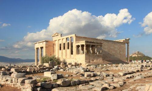 Zdjęcie GRECJA / Ateny / Akropol / Świątynia Erechteusza