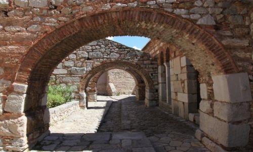 Zdjecie GRECJA / Beocja / W pobliżu miasta Distomo / Klasztor Osios Lukas