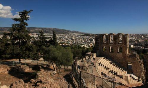 Zdjęcie GRECJA / Ateny / Akropol / Odeon Heroda Attyka