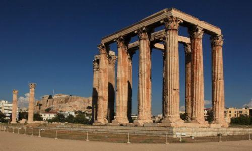 Zdjęcie GRECJA / Ateny / Olimpiejon / Świątynia Zeusa Olimpijskiego