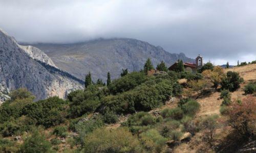 Zdjęcie GRECJA / Beocja / Arachowa / W górach Parnas