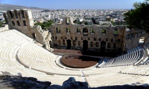 Zdjęcie GRECJA / Akropol / Ateny / Teatr Dionizosa