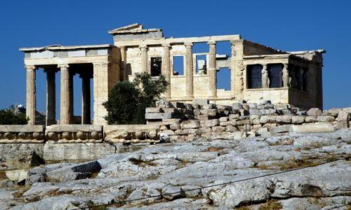 Zdjęcie GRECJA / Akropol / Ateny / Erechtejon