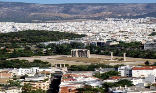 Zdjęcie GRECJA / Akropol / Ateny  / Świątynia Zeusa