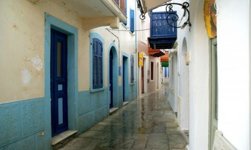 Zdjęcie GRECJA / Nisyros / Mandraki / Mandraki