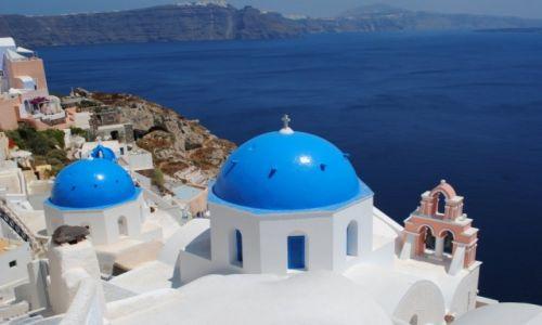 Zdjecie GRECJA / - / Santorini / View.