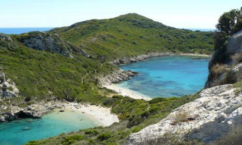 Zdjecie GRECJA / Korfu / Porto Timoni / dwie plaże