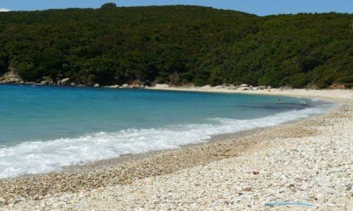 Zdjecie GRECJA / Avlaki / plaża / plaża