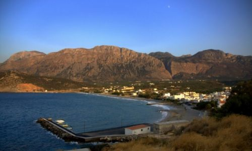Zdjecie GRECJA / Creta / Nad morzem / Krajaobraz