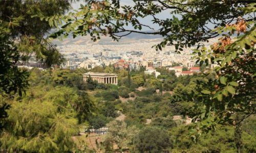 Zdjęcie GRECJA /  Ateny / Anafiotika / Podglądanie Aten