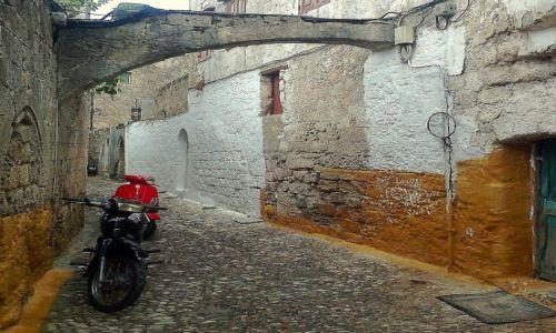 Zdjecie GRECJA / Rodos / Rodos / Stare miasto