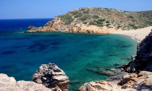 Zdjecie GRECJA / Kreta / Vai / Ukryta plaża