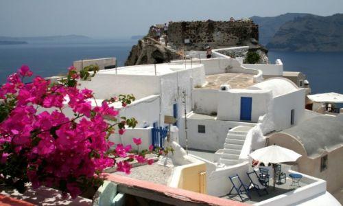 Zdjecie GRECJA / Santorini / Oia / Pocztówka z Grecji