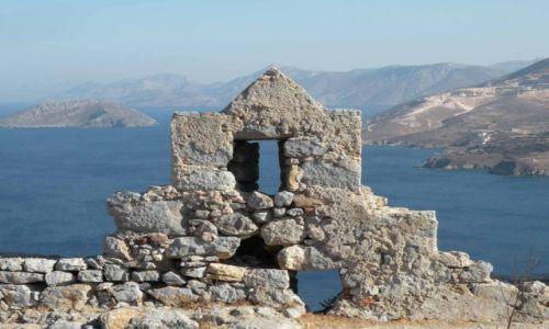 Zdjęcie GRECJA / Dodekanez / Wyspa Leros / Z widokiem na morze