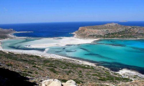 Zdjęcie GRECJA / Kreta / Zatoka Balos / Błękitna laguna