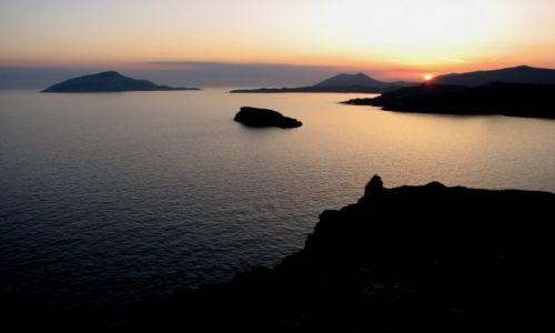 Zdjecie GRECJA / Attyka / Płw. Sounion / Morze Egejskie