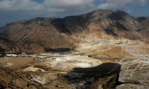Zdjęcie GRECJA / Dodekanez / wyspa Nissyros / Wulkan