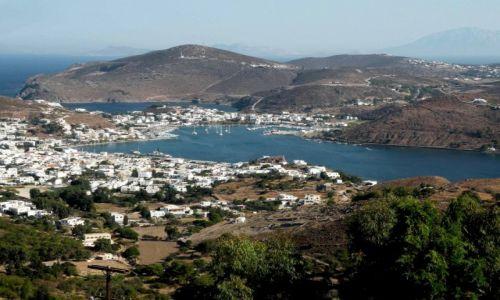 Zdjecie GRECJA / Dodekanez / wyspa Patmos / Widoczek