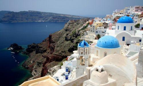 Zdjęcie GRECJA / Santorini / Oia / Pocztówka z Grecji