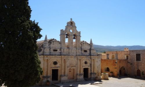 Zdjecie GRECJA / Kreta / Moni Arkadiu / Moni Arkadiu