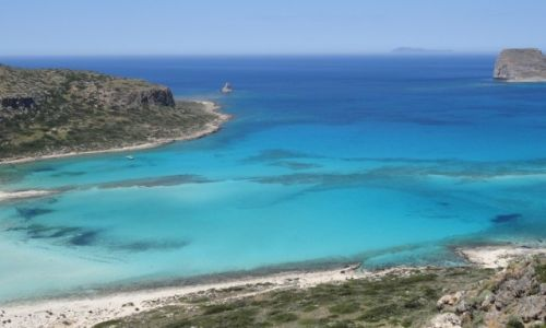 Zdjęcie GRECJA / Kreta / Laguna Balos / blisko ... w Europie