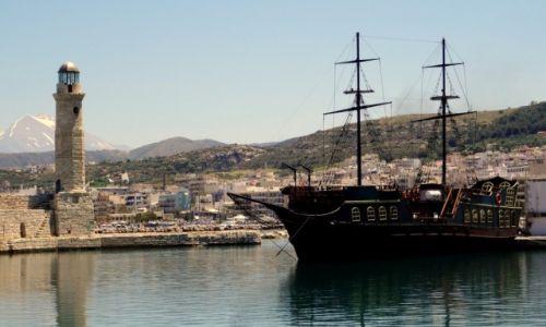 Zdjęcie GRECJA / Kreta / Rethymnon / Latarnia XVII w.