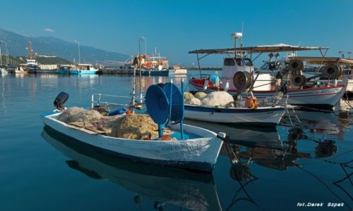 Zdjecie GRECJA / Riwiera Olimpijska / Platamonas / port
