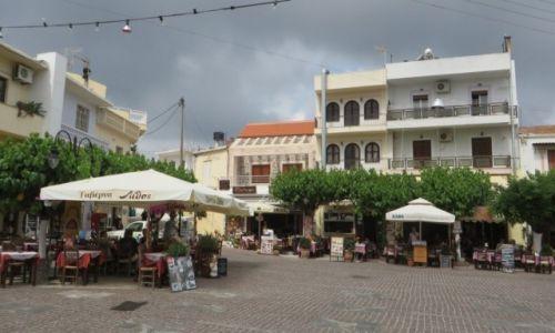 Zdjęcie GRECJA / Kreta / Mochos / rynek w Mochos