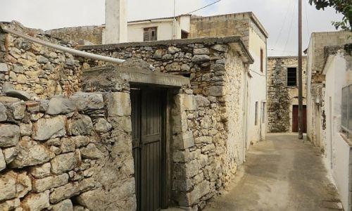 Zdjęcie GRECJA / Kreta / Mochos / wiejska zabudowa