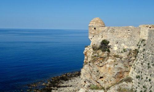 Zdjęcie GRECJA / Kreta / Rethymnon / Forteca w Rethymnonie